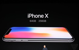 """Cùng soi siêu phẩm iPhone X có giá bán khởi điểm """"khủng"""" 999 USD"""