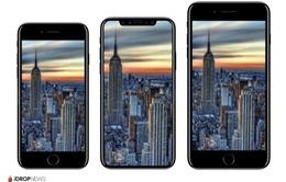 iPhone 8 lộ thiết kế mặt trước: Không viền màn hình, không phím Home