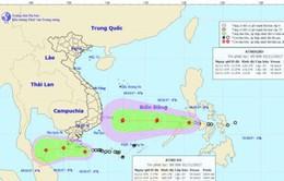 Áp thấp nhiệt đới cách Côn Đảo 120km