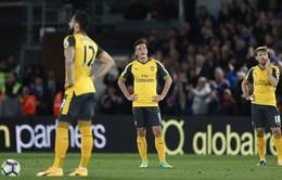 """Vòng 32 giải Ngoại hạng Anh: Crystal Palace 3-0 Arsenal, ác mộng cho """"Pháo Thủ"""""""