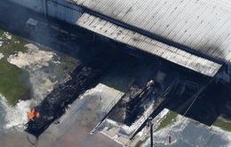 Cảnh báo khói độc sau vụ nổ nhà máy hóa chất ở Mỹ