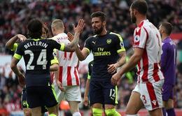 Vòng 37 giải Ngoại Hạng Anh: Stoke City 1-4 Arsenal, Pháo Thủ mơ về Top 4