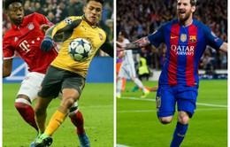 Lịch thi đấu lượt về vòng 1/8 Champions League: Phép màu nào cho Arsenal và Barca?