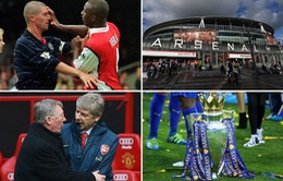 Arsenal - Manchester United: Cặp đấu nhiều duyên nợ của bóng đá Anh