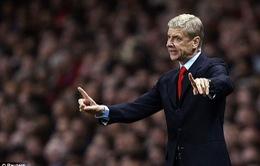HLV Wenger ký hợp đồng gia hạn 2 năm với Arsenal