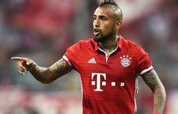 Chuyển nhượng bóng đá quốc tế ngày 09/8/2017: Bayern tuyên bố không bán Vidal
