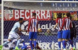 Vòng 22 La Liga: Atletico ngược dòng ngoạn mục trước Celta Vigo