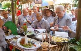Bắt đầu Tuần lễ Triển lãm và Hội chợ văn hóa ẩm thực chay tại TP.HCM