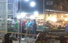 Bắt đối tượng trong vụ giết người tại chợ hoa Quảng An