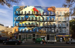 """Tranh Graffiti - """"Đặc sản"""" du lịch hấp dẫn tại New York, Mỹ"""