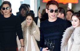 Cưới xong, Rain và Kim Tae Hee bay sang Mỹ