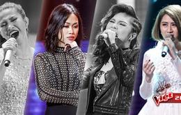 Đây là 4 thí sinh được cứu sau vòng Đối đầu Giọng hát Việt