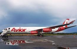 Hoạt động vận tải hàng không đình trệ tại Venezuela