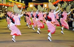 Lễ hội múa Awa Odori tại Nhật Bản thu hút hơn 1 triệu người