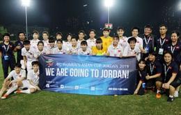 Lộ diện các đối thủ của tuyển nữ Việt Nam tại VCK Aisan Cup nữ 2018