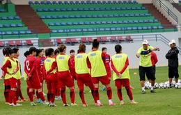 Đội tuyển nữ Quốc gia tập sân chính, tiếp tục rèn thể lực