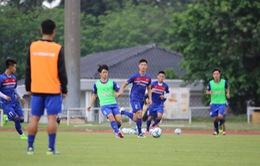 Gặp sự cố, ĐT U22 Việt Nam vẫn vui vẻ hoàn thành ngày tập luyện đầu tiên trên đất Malaysia
