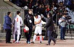 Sau trận ĐT Afghanistan 1-1 ĐT Việt Nam: Trung vệ Tiến Dũng cần ít nhất 2 tuần để hồi phục chấn thương