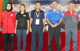 Hôm nay (3/4), vòng loại Asian Cup nữ 2018 tại Việt Nam chính thức khởi tranh