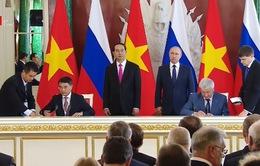 Chủ tịch nước dự lễ ký kết hợp tác Việt Nam - Liên bang Nga