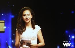 """MC Mỹ Vân: """"Tôi hồi hộp không kém thí sinh Sao mai"""""""