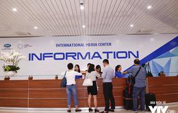 Trung tâm Báo chí quốc tế tạo điều kiện tối đa cho PV đưa tin về APEC