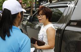 Người dân Hà Nội hài lòng với dịch vụ trông giữ xe thông minh