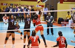 Giải bóng chuyền nữ quốc tế VTV Cup Tôn Hoa Sen 2017: ĐT Indonesia thắng áp đảo trận ra quân