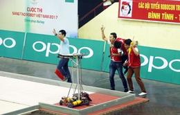 Robocon Việt Nam 2017: Điểm lại những trận tranh tài ấn tượng tại vòng loại phía Bắc