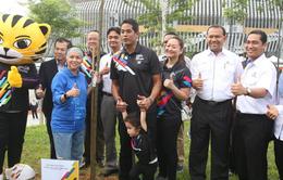 """Chủ nhà Malaysia """"phủ xanh"""" SEA Games 29 bằng chiến dịch trồng cây độc đáo"""