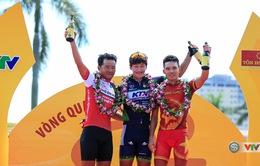 [KT] Chặng 4 Giải xe đạp Quốc tế VTV Cúp Tôn Hoa Sen 2017: Minwoo Lee cán đích đầu tiên