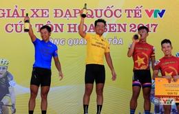 Giải xe đạp quốc tế VTV Cúp Tôn Hoa Sen 2017: Lê Văn Duẩn giành chiến thắng chặng 5