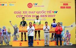 Giải xe đạp quốc tế VTV Cúp Tôn Hoa Sen 2017: Nguyễn Thành Tâm giành chiến thắng chặng 13