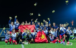 VIDEO: Khoảnh khắc ĐT nữ Việt Nam đăng quang ngôi vô địch bóng đá nữ SEA Games 29