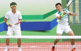 ĐT Việt Nam chuẩn bị trước vòng 1 Davis Cup khu vực châu Á - châu Đại Dương