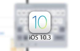 Apple thử nghiệm tính năng bàn phím nổi trên iOS 10.3 beta