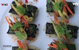 Vua đầu bếp Ngô Thanh Hòa trổ tài làm món bò cuốn lá lốt ngon miễn chê