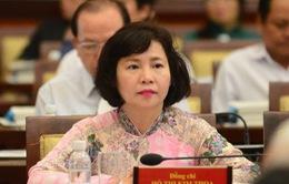 Ban Bí thư miễn nhiệm chức vụ đối với bà Hồ Thị Kim Thoa