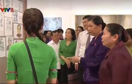 Đồng chí Tòng Thị Phóng thăm và làm việc tại Quảng Nam