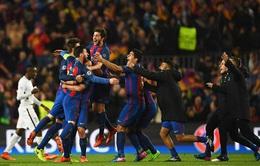 Lượt về vòng 1/8 Champions League: Cuộc lội ngược dòng ngoạn mục của Barcelona