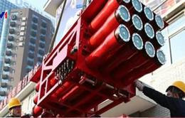 Bắc Kinh, Trung Quốc dùng rocket chữa cháy