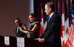 Ba nước Bắc Mỹ bước vào vòng đàm phán quyết định tương lai NAFTA