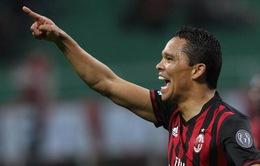 """Tính gây sốc với Aubameyang, AC Milan quyết """"trảm"""" Bacca"""