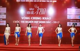 """Dàn thí sinh """"Người đẹp Kinh Bắc 2017"""" hút mắt với trang phục bikini"""