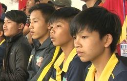 Buổi học bổ ích ngoài sân cỏ của cầu thủ trẻ HAGL