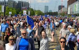 Biểu tình phản đối chính phủ tại Ba Lan
