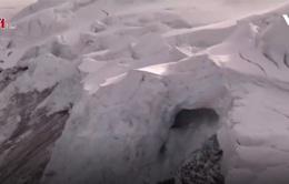 Lở sông băng trên dãy núi Alps