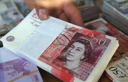 Đồng Bảng Anh tăng lên mức cao nhất trong 15 tháng