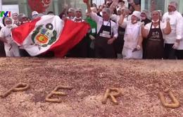 Bánh socola lớn nhất thế giới