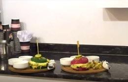 Chiêm ngưỡng những chiếc hamburger đầy màu sắc